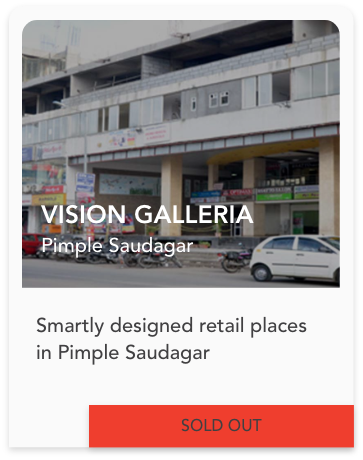 Vision Galleria - Retail Spaces in Pimple Saudagar