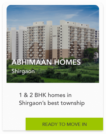 Abhimaan Homes - 1 & 2 homes in shirgaon
