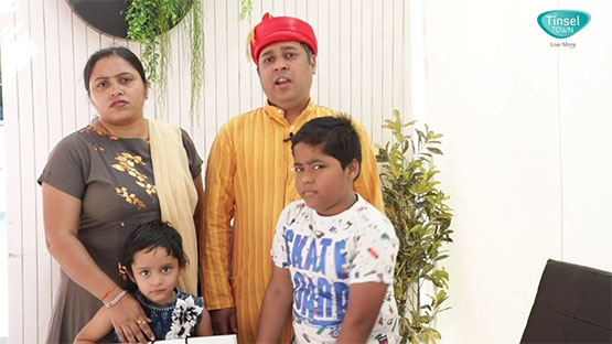Agarwal Family at Kohinoor Tinsel Town, Hinjawadi Phase 2 Pune