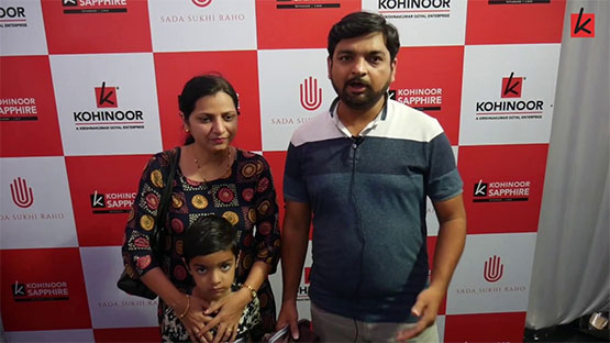 Kohinoor customers talks about their happy experience while booking with Kohinoor Group.